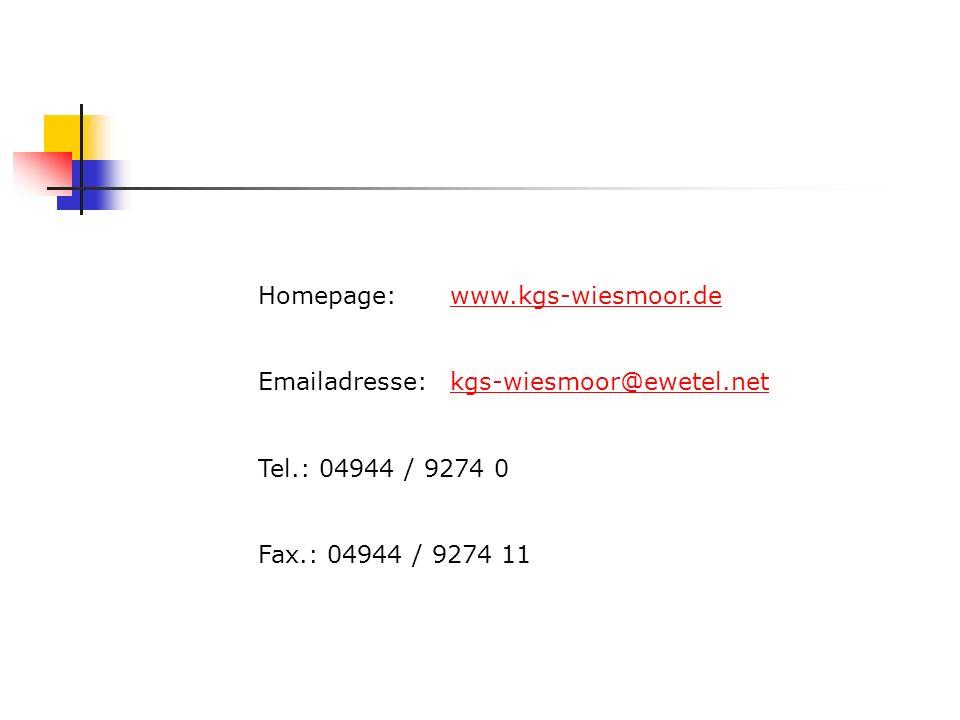 Homepage: www.kgs-wiesmoor.de