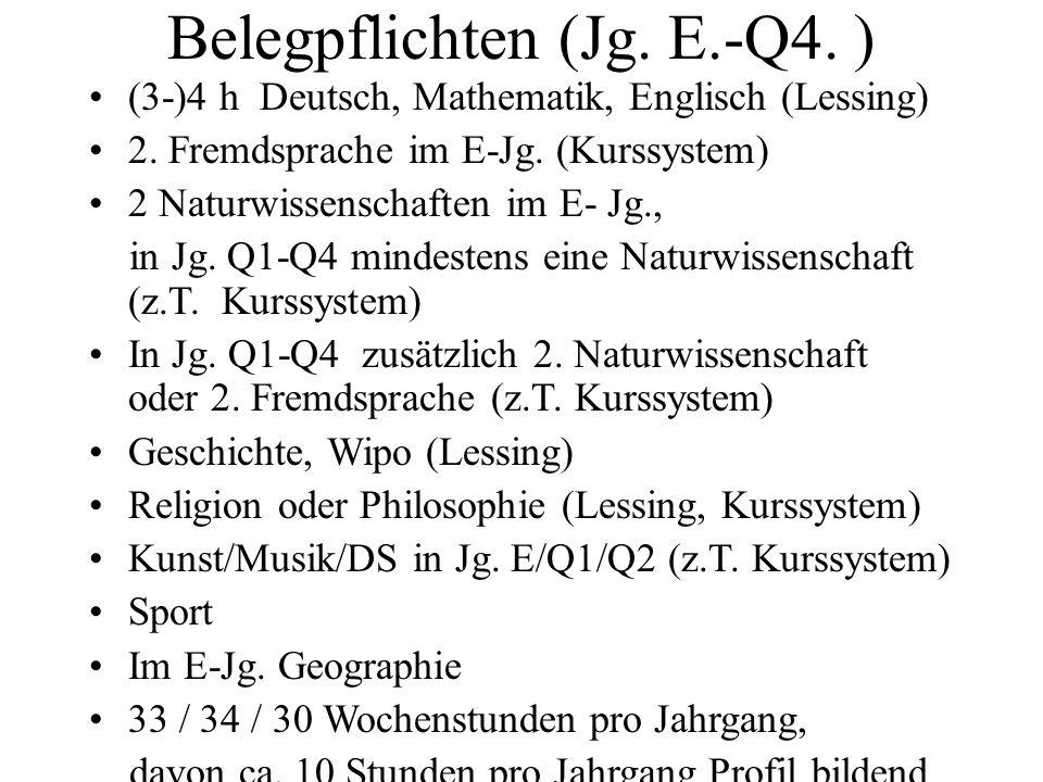 Belegpflichten (Jg. E.-Q4. )