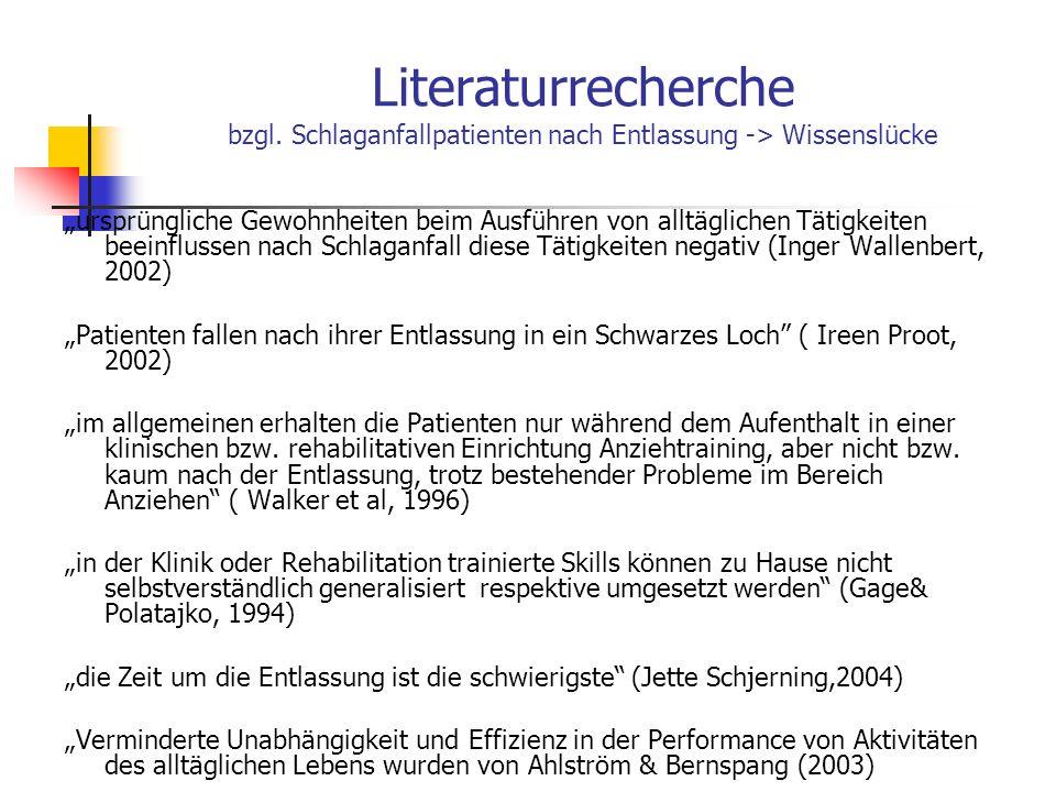 Literaturrecherche bzgl