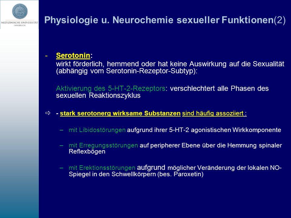 Physiologie u. Neurochemie sexueller Funktionen(2)