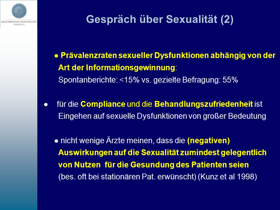 Gespräch über Sexualität (2)