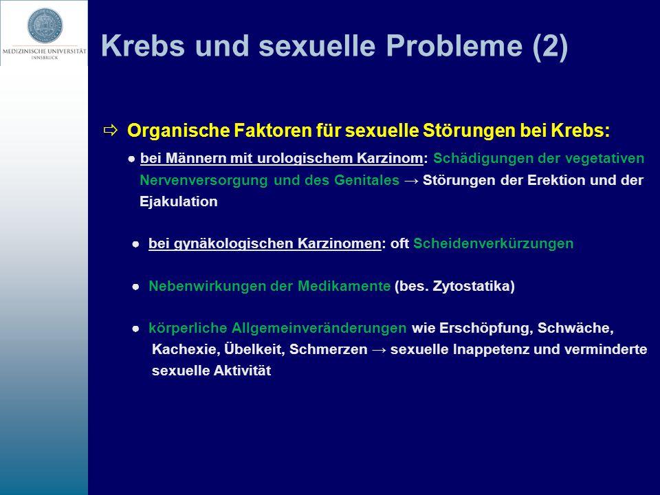 Krebs und sexuelle Probleme (2)