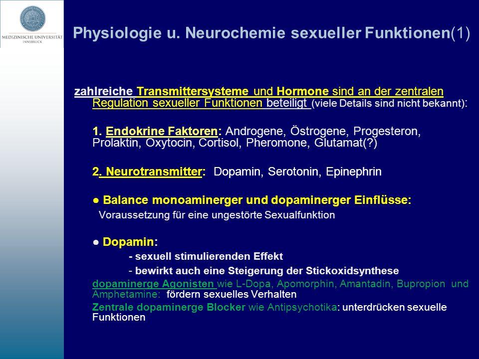 Physiologie u. Neurochemie sexueller Funktionen(1)