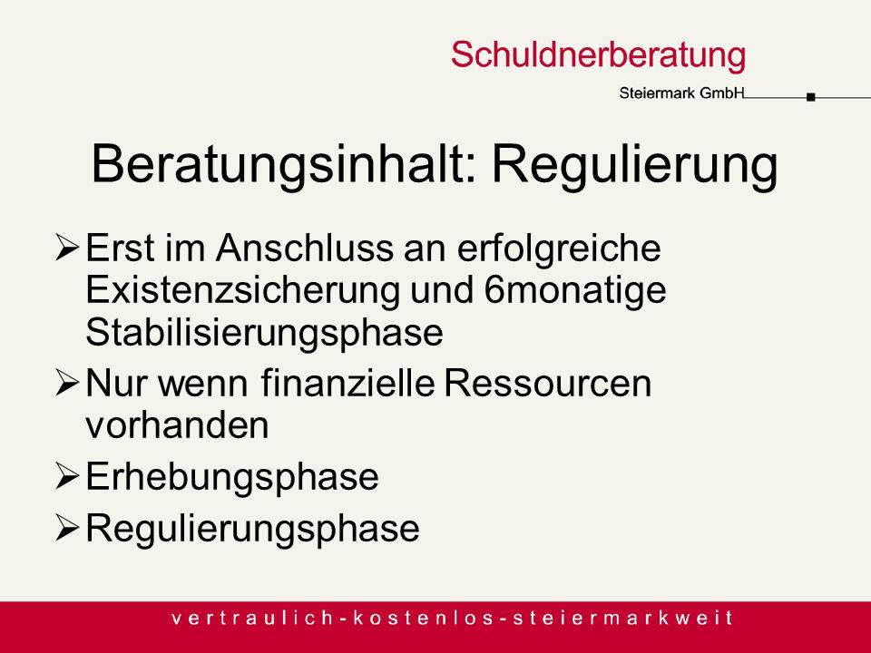 Beratungsinhalt: Regulierung