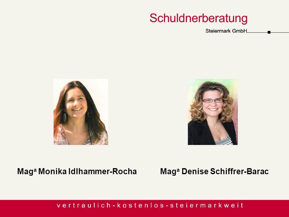 MitarbeiterInnen Maga Monika Idlhammer-Rocha Maga Denise Schiffrer-Barac