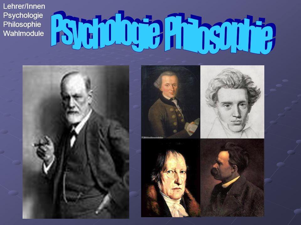 Psychologie Philosophie Lehrer/Innen Psychologie Philosophie