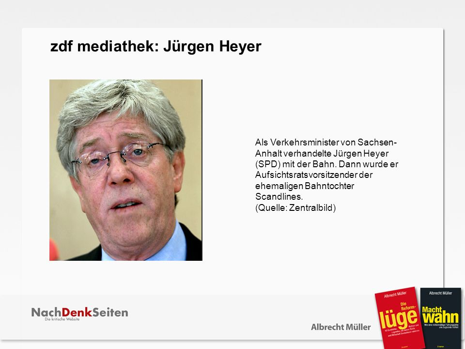 zdf mediathek: Jürgen Heyer