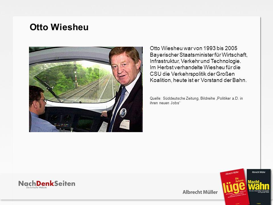 Otto Wiesheu.