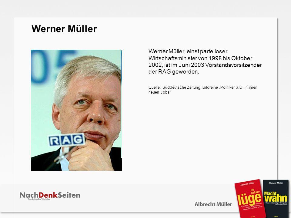 Werner Müller.