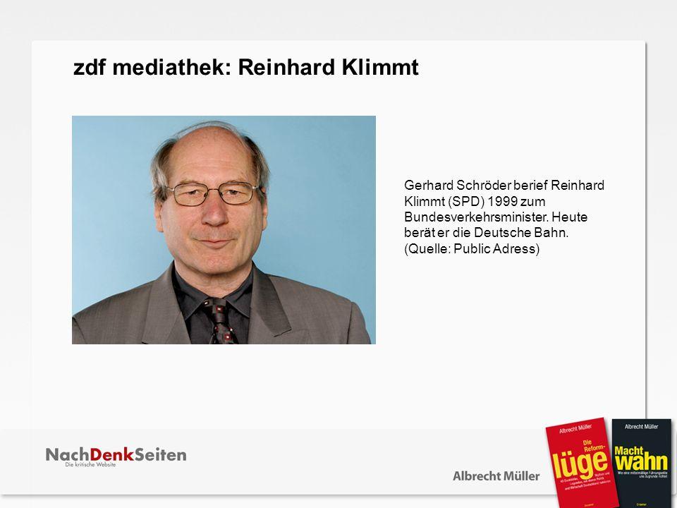 zdf mediathek: Reinhard Klimmt