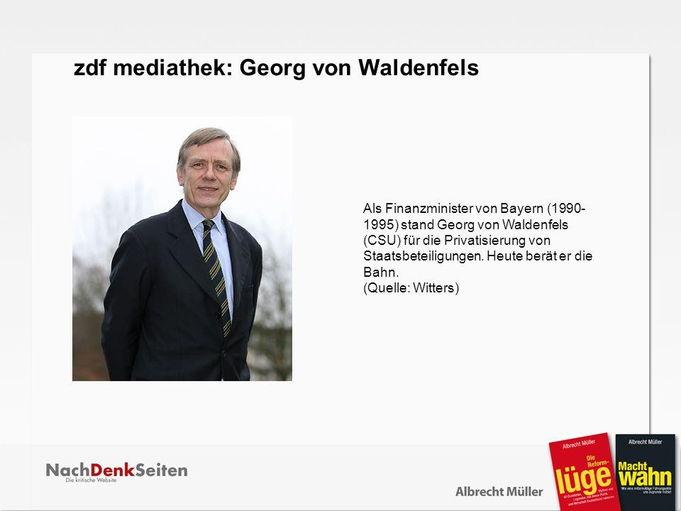 zdf mediathek: Georg von Waldenfels