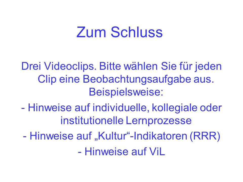 """- Hinweise auf """"Kultur -Indikatoren (RRR)"""