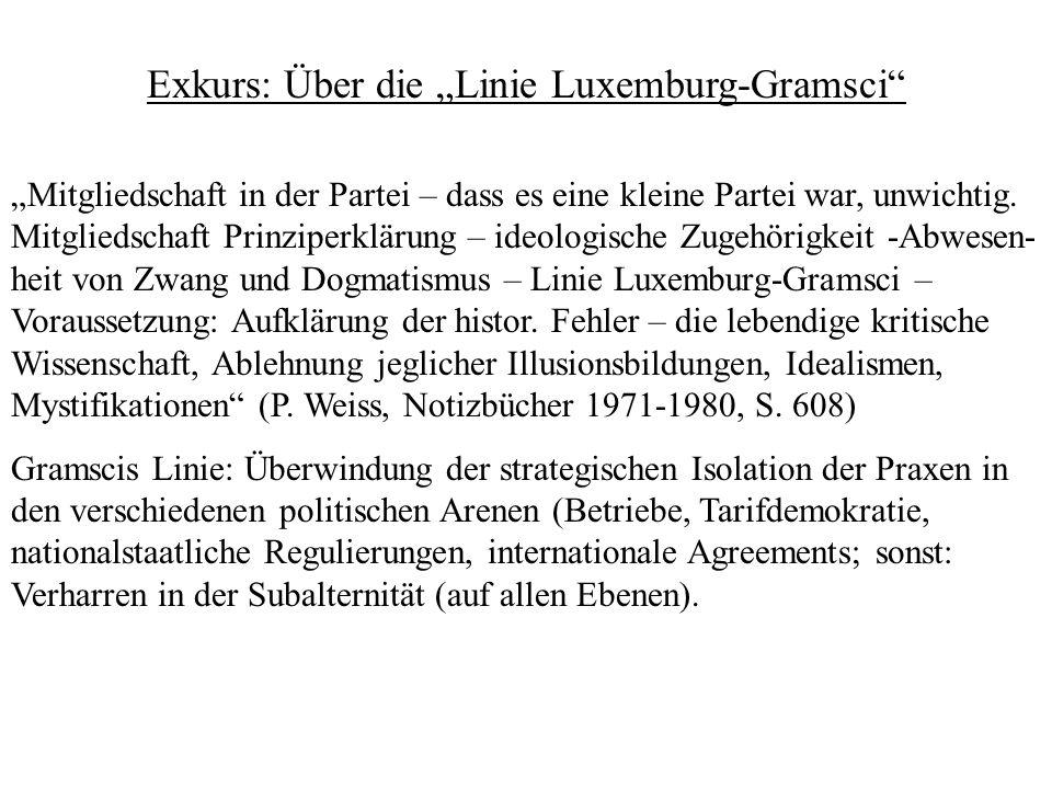 """Exkurs: Über die """"Linie Luxemburg-Gramsci"""