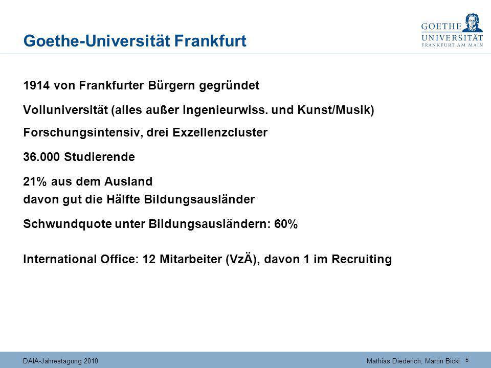 Der Kuchen wird größer ... Quelle: Brandenburg (CHE-Consult) 2010 nach British Council und IDP