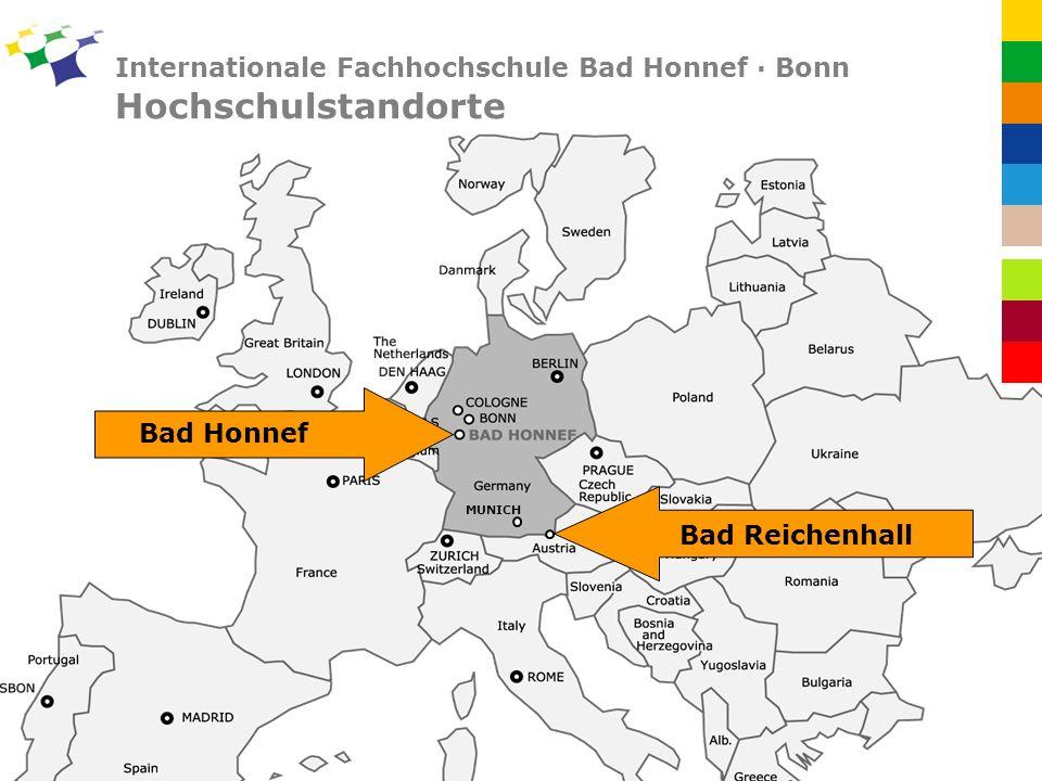 Internationale Fachhochschule Bad Honnef · Bonn Hochschulstandorte