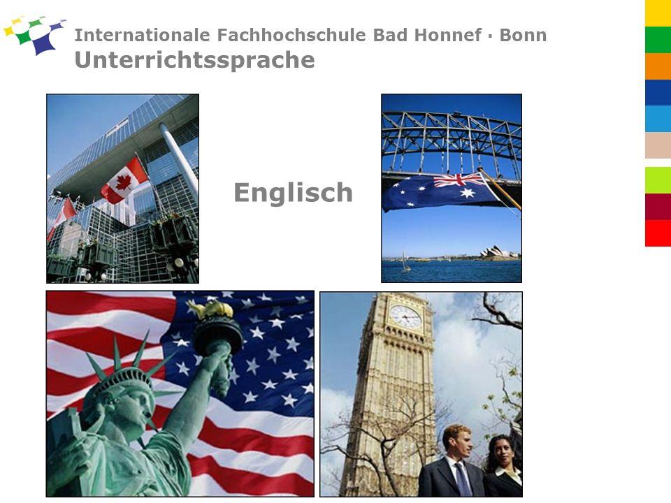 Internationale Fachhochschule Bad Honnef · Bonn Unterrichtssprache