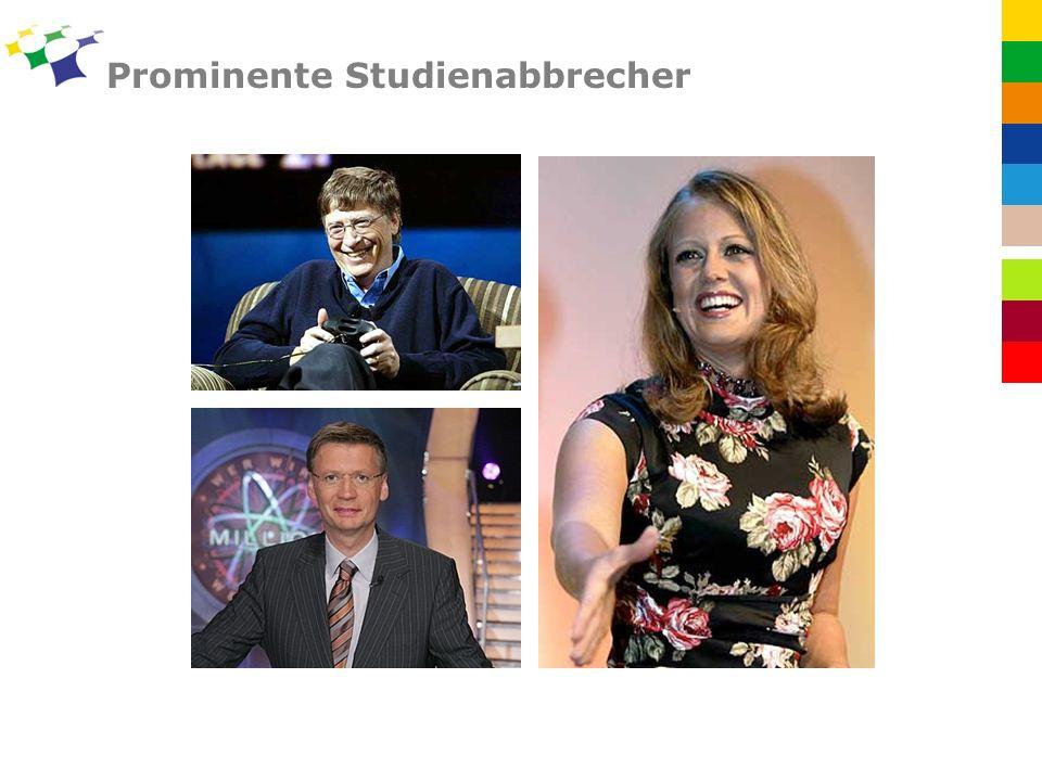 Prominente Studienabbrecher