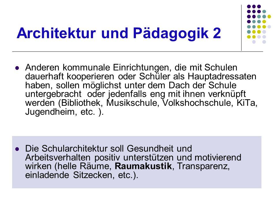 Architektur und Pädagogik 2