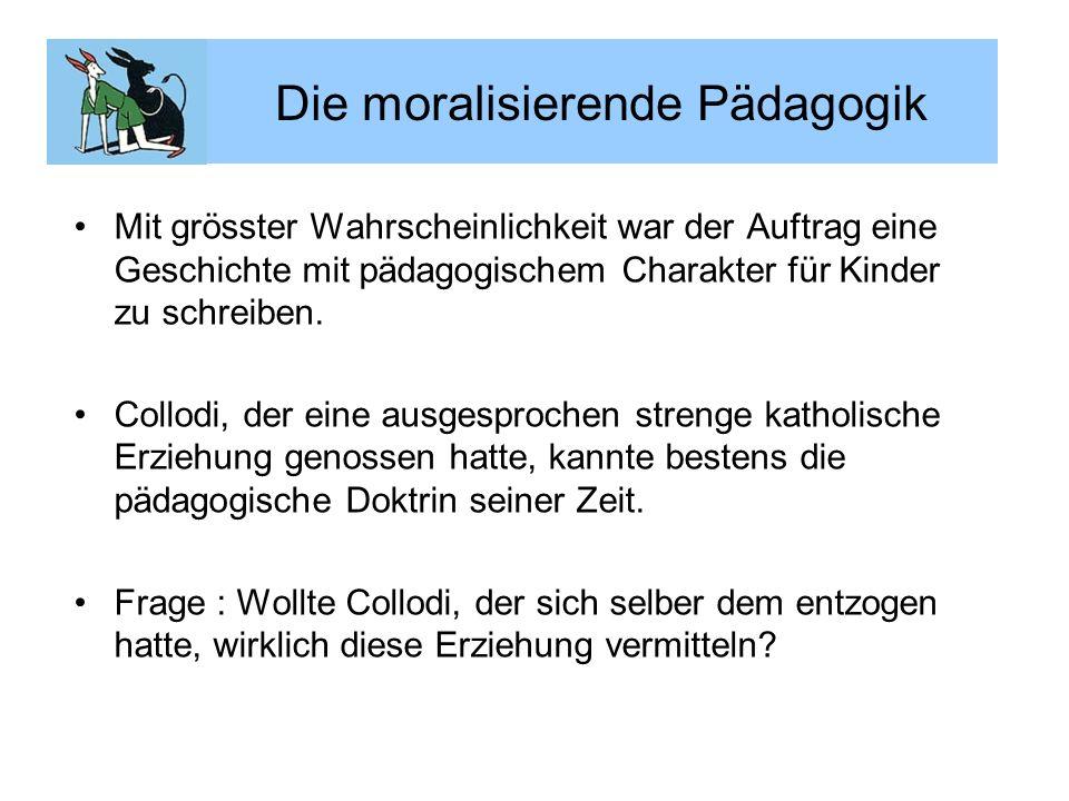 Die moralisierende Pädagogik