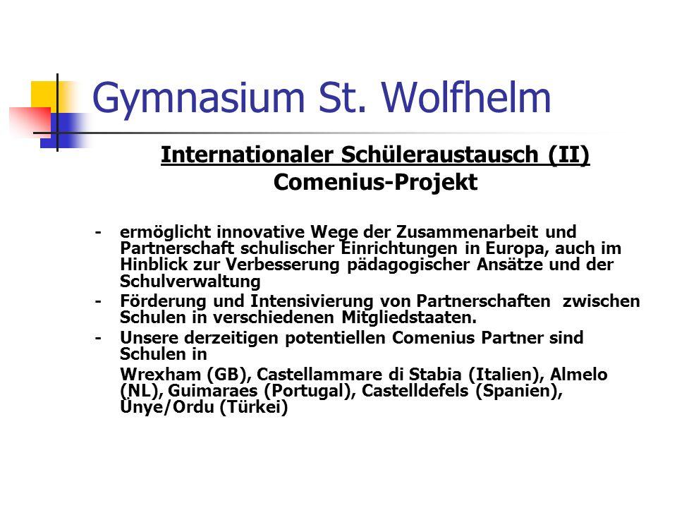 Internationaler Schüleraustausch (II)