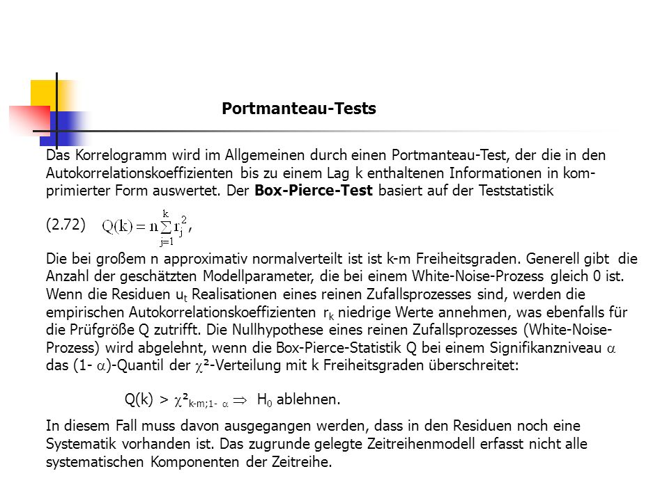 Portmanteau-Tests