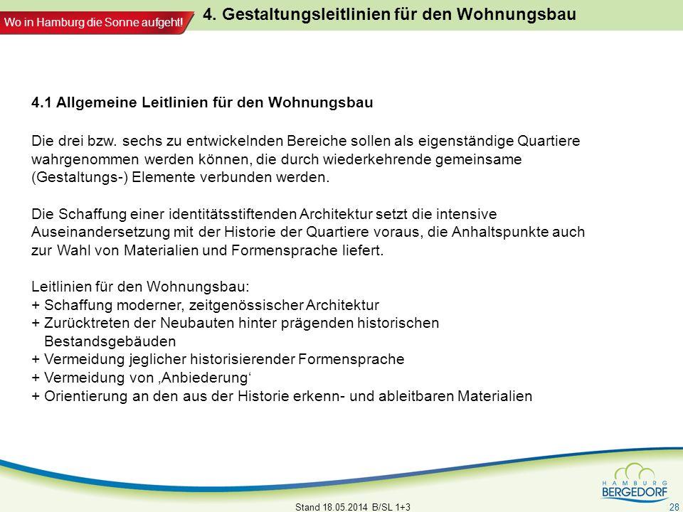 4. Gestaltungsleitlinien für den Wohnungsbau