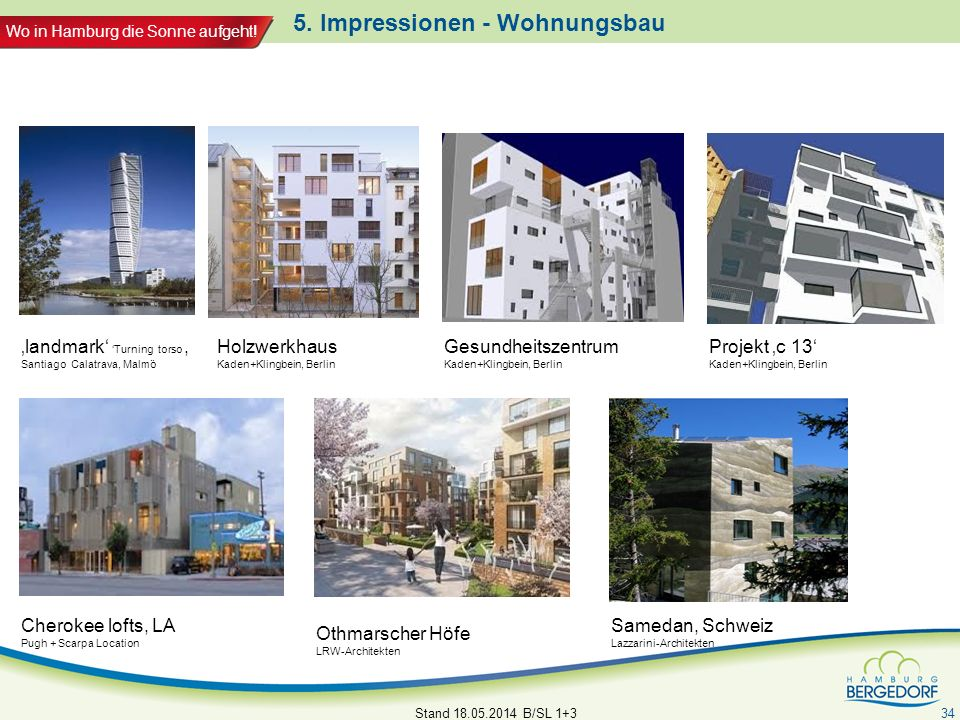 5. Impressionen - Wohnungsbau
