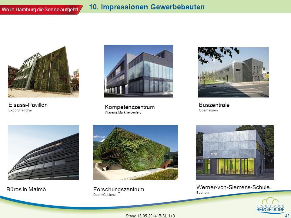 10. Impressionen Gewerbebauten