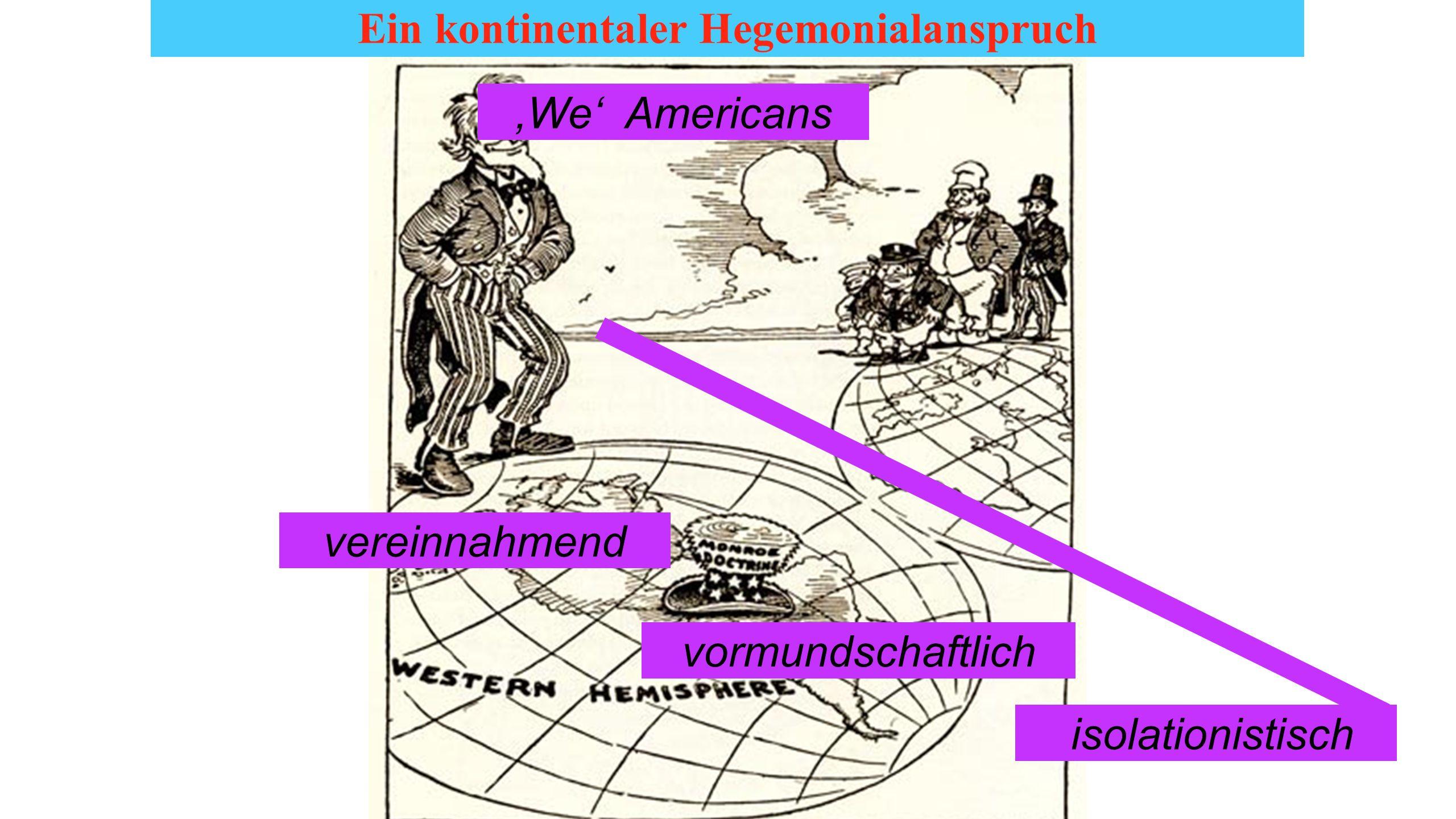 Ein kontinentaler Hegemonialanspruch