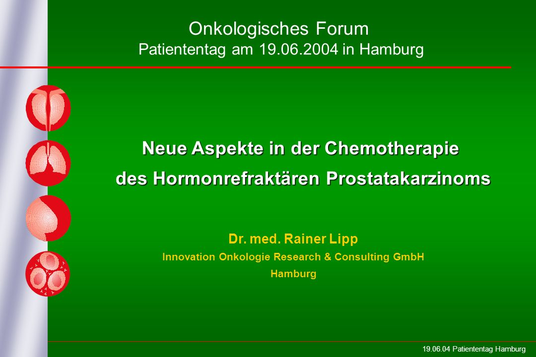 Neue Aspekte in der Chemotherapie
