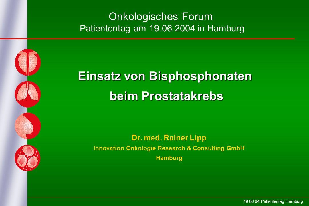 Einsatz von Bisphosphonaten beim Prostatakrebs
