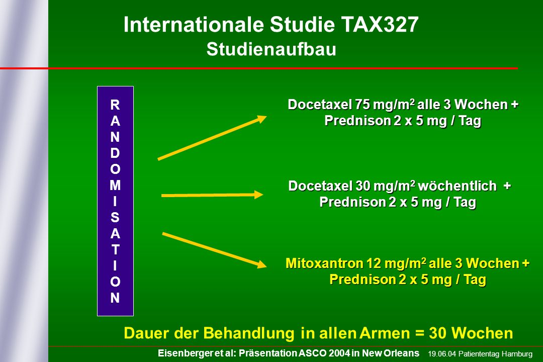 Internationale Studie TAX327