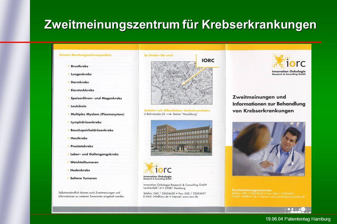 Zweitmeinungszentrum für Krebserkrankungen