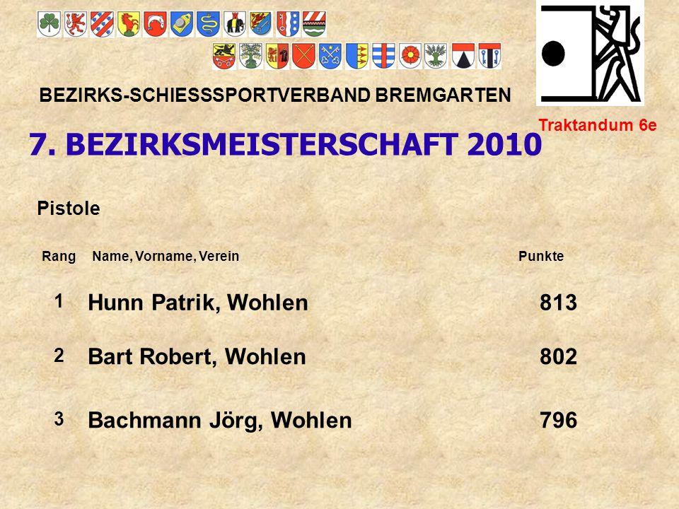 7. BEZIRKSMEISTERSCHAFT 2010