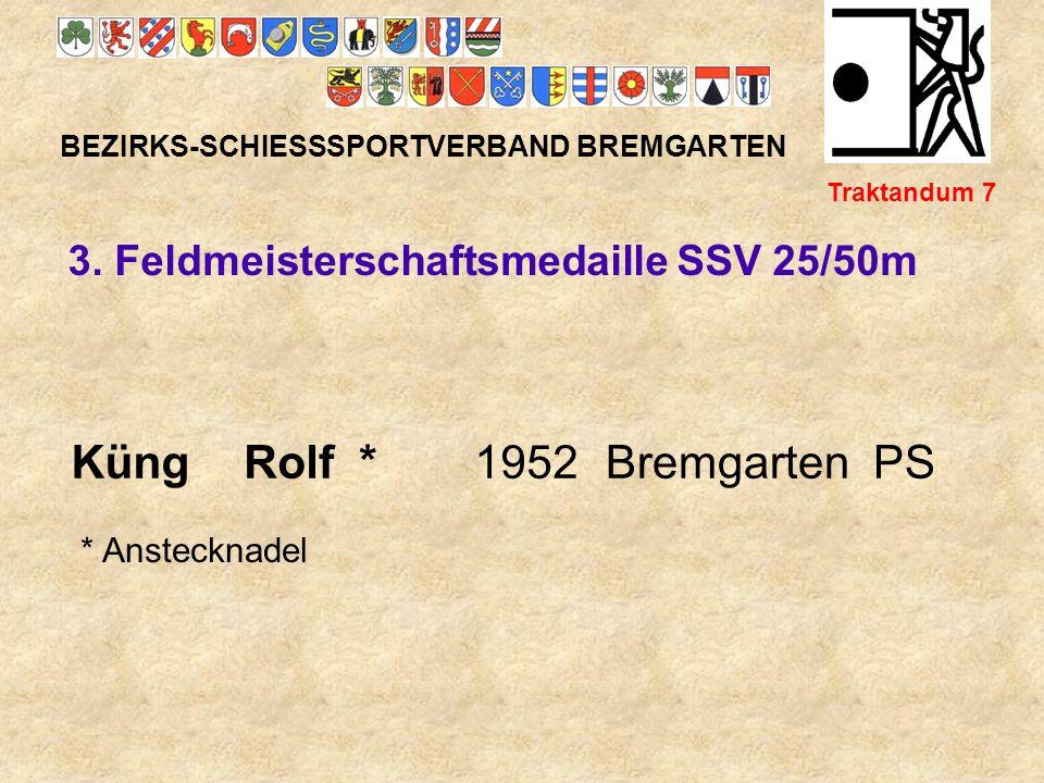 Küng Rolf * 1952 Bremgarten PS