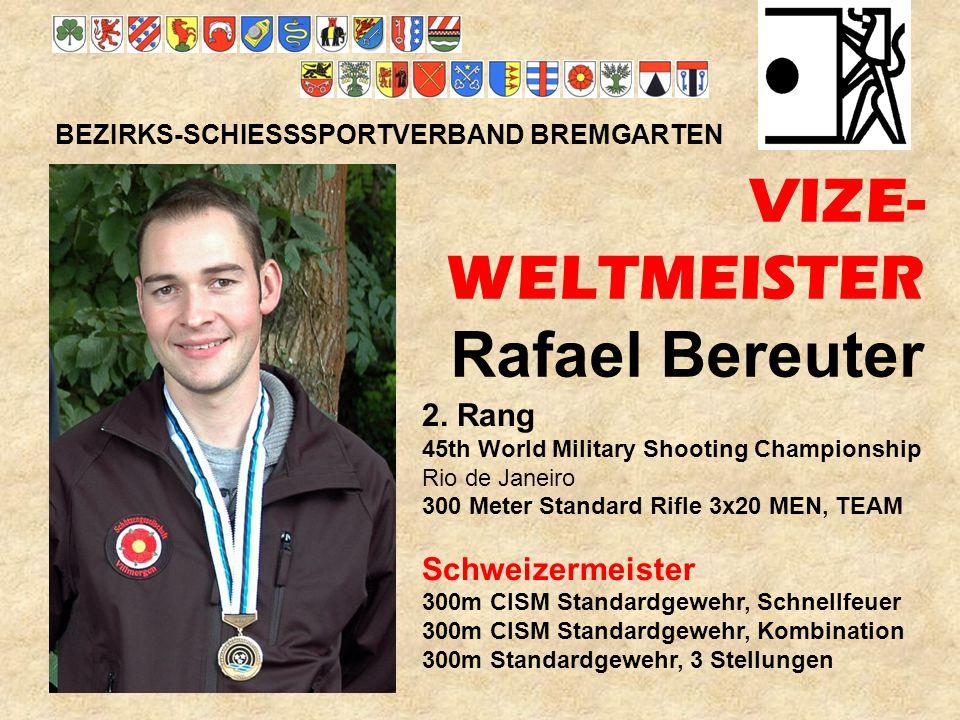 VIZE- WELTMEISTER Rafael Bereuter