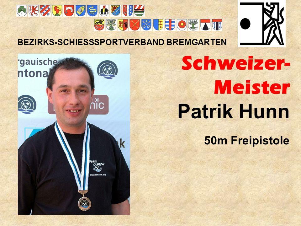 Schweizer- Meister Patrik Hunn