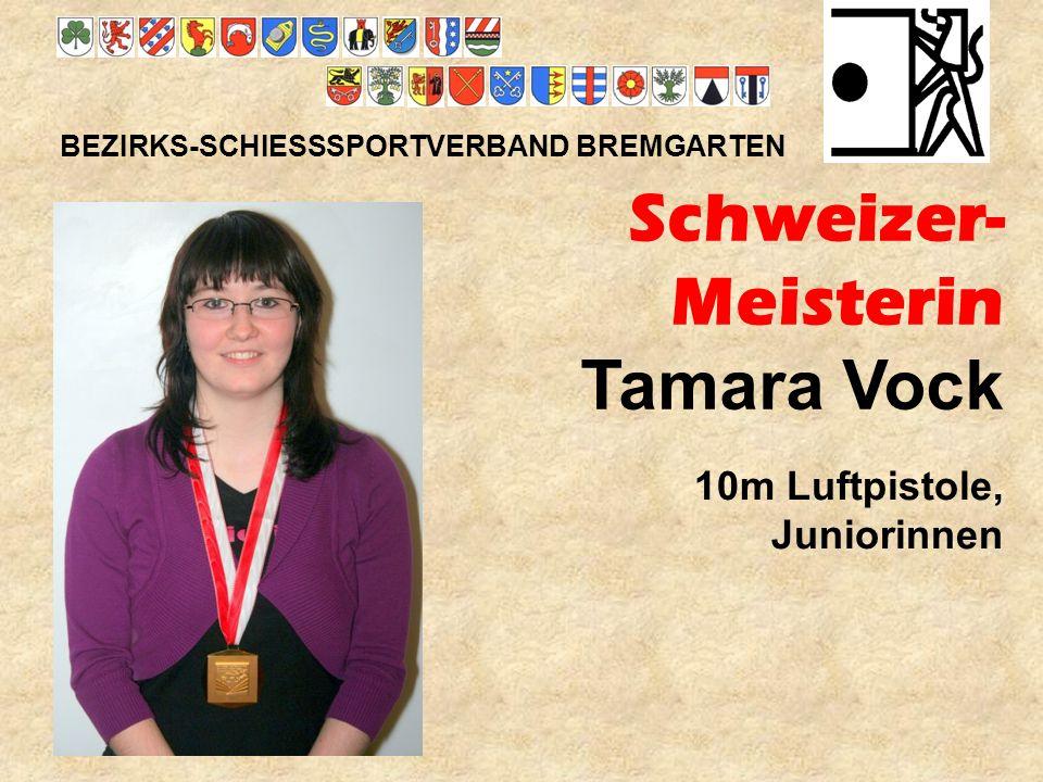 Schweizer- Meisterin Tamara Vock