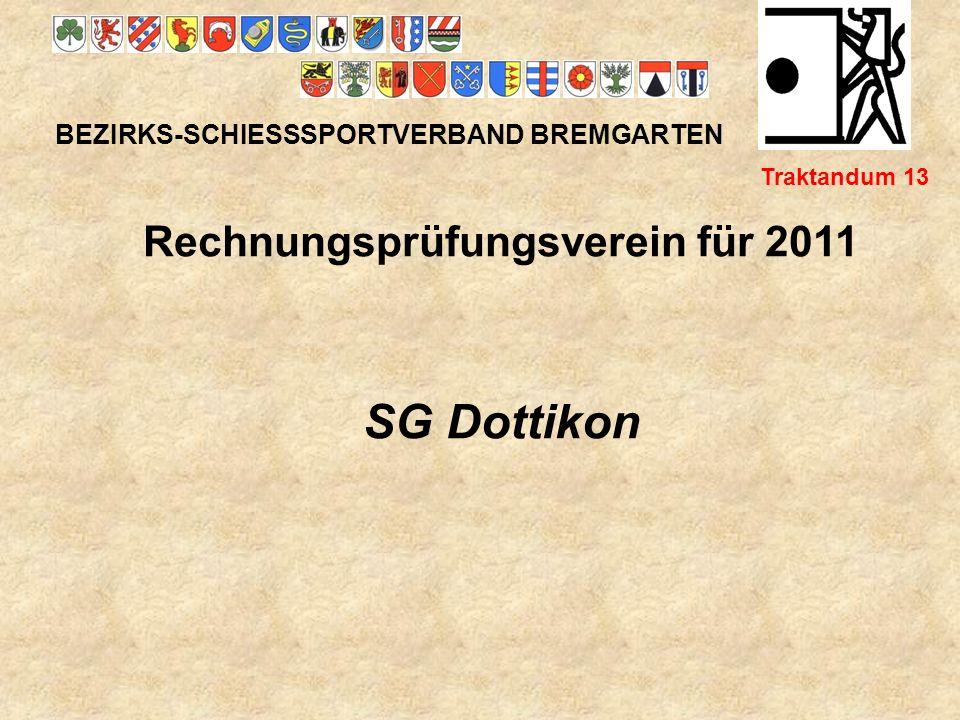 Rechnungsprüfungsverein für 2011