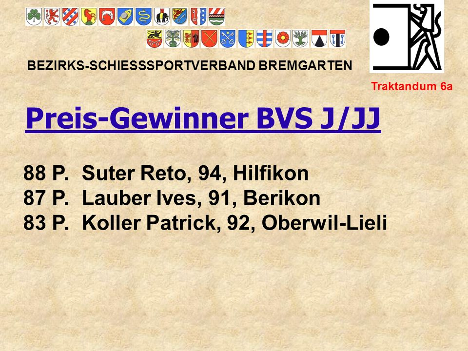 Preis-Gewinner BVS J/JJ