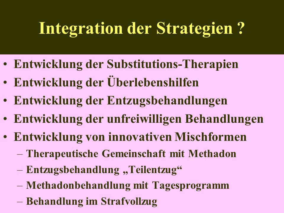 Integration der Strategien