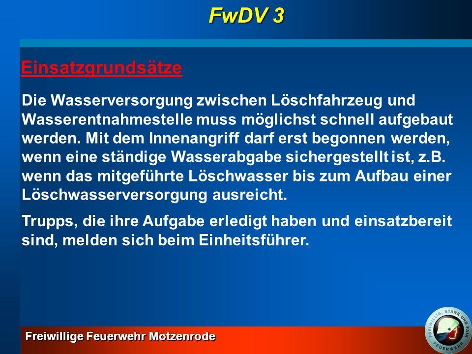 FwDV 3 Einsatzgrundsätze