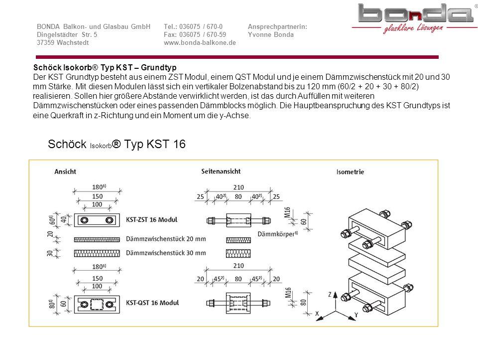 Schöck Isokorb® Typ KST 16