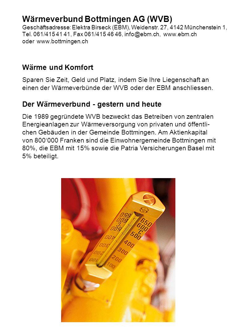 Wärmeverbund Bottmingen AG (WVB)