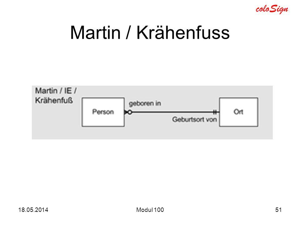 Martin / Krähenfuss 31.03.2017 Modul 100