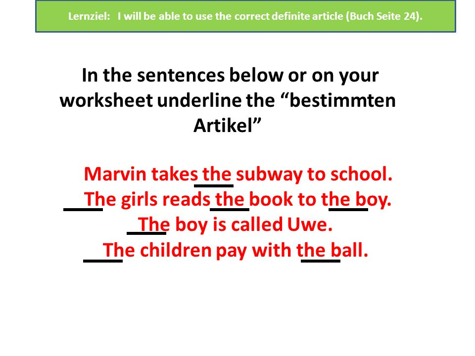 Marvin takes the subway to school.