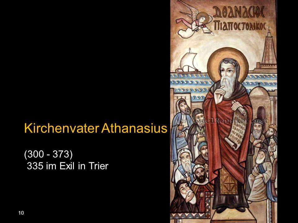 Kirchenvater Athanasius