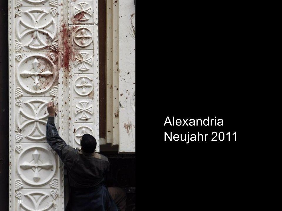 Alexandria Neujahr 2011