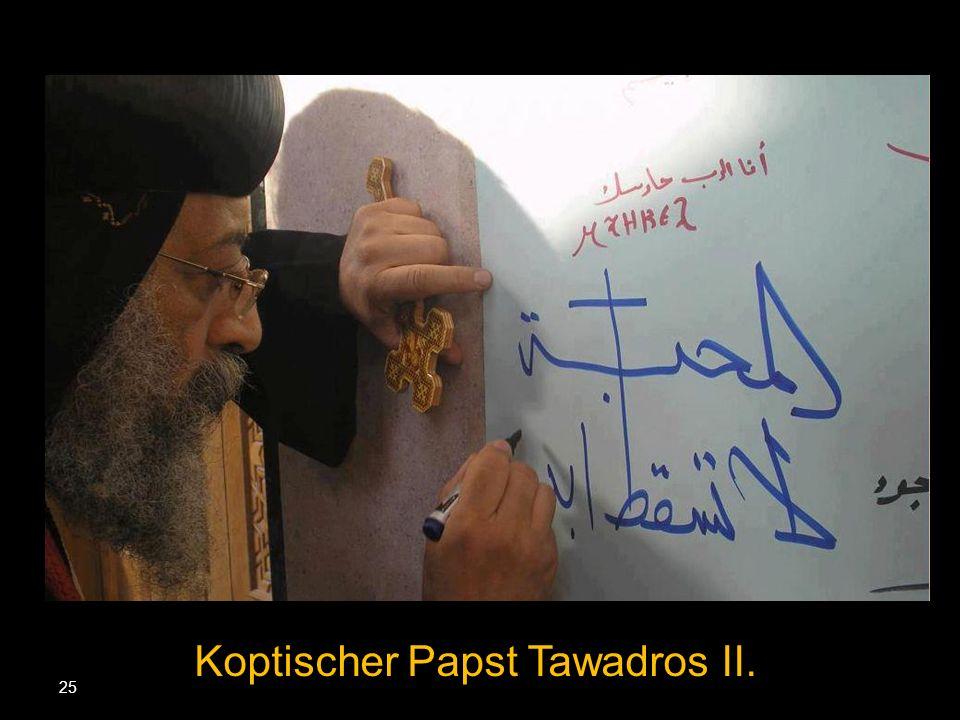Koptischer Papst Tawadros II.