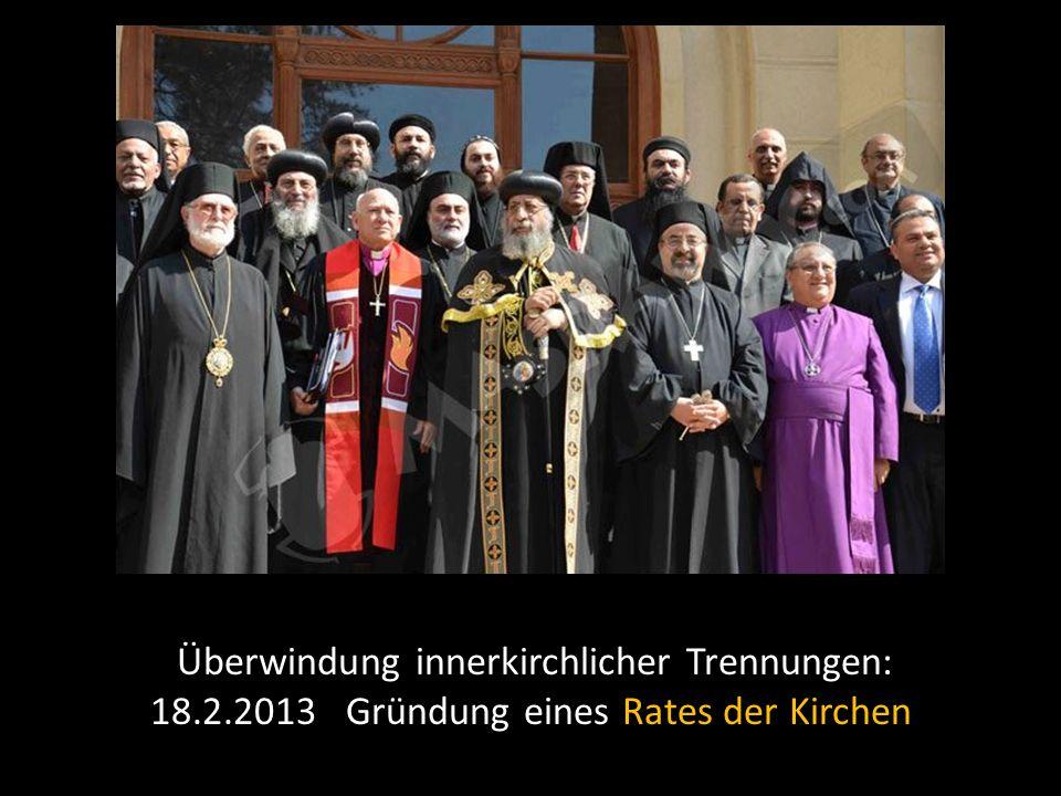 Überwindung innerkirchlicher Trennungen: